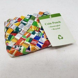 Kilus Coin Purse Handcrafted Recycled MultiPurpose